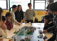 Trường Đại học Trung Quốc tích hợp LEGO vào giảng dạy các môn học trừu tượng
