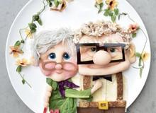 Sửng sốt trước những món ăn tuyệt đẹp được lấy cảm hứng từ các nhân vật hoạt hình