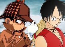 Nếu cha đẻ Conan gặp mặt tác giả One Piece thì điều tuyệt vời gì có thể xảy ra nhỉ?