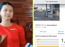 Sau vụ cô lễ tân, cộng đồng mạng lại kéo sang report Aroma resort tận bên Nhật dù chẳng liên quan