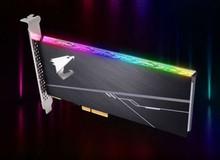 Gigabyte giới thiệu mẫu SSD vừa đẹp tuyệt vời vừa nhanh chóng mặt chuyên dụng cho game thủ