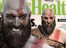 """Chán đánh nhau, Kratos đổi nghề làm người mẫu Tạp chí sức khỏe dạy cách trở thành """"Người cha mẫu mực"""""""