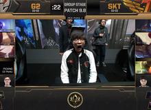 """MSI 2019 Ngày 1: Faker """"ngáp ngủ"""" - SKT T1 thất thủ trước G2 trong trận đấu mở màn"""
