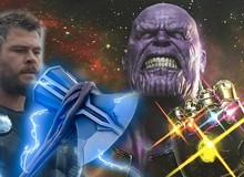 Avengers: Endgame - Liệu Cây rìu Stormbreaker của Thor có mạnh hơn Găng tay Vô Cực của Thanos?