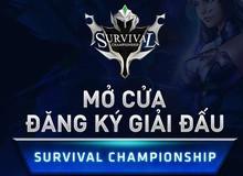 Làm giàu không khó với chuỗi Giải đấu 10 triệu Đồng mỗi tuần cùng Survival Heroes