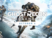 Nghẹt thở với Ghost Recon: Breakpoint, game bắn súng đỉnh cao sẽ ra mắt ngay trong năm nay