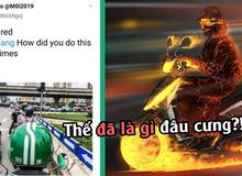 LMHT: Phóng viên MSI hết hồn với xe ôm Việt, fan an ủi 'vẫn chưa là gì so với Ninja Lead đâu anh!'