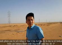 """""""Khoa Pug phiêu lưu ký"""" tại Ai Cập: Gặp rắc rối ở Cairo, tới sa mạc Sahara du ngoạn"""