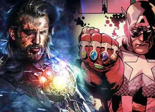 """Avengers: Endgame - Nếu Captain America sử dụng Găng tay vô cực thì chắc chắn sẽ bị... """"nướng chín"""""""