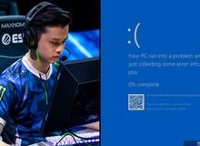 Nản với giải đấu CS:GO chuyên nghiệp: Đang bắn hăng thì hiện lên thông báo 'màn hình xanh chết chóc'