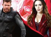 """Vượt qua Thor hay Captain Marvel, phù thủy đỏ Scarlet Witch mới """"xứng đáng"""" là siêu anh hùng mạnh nhất Avengers: Endgame?"""