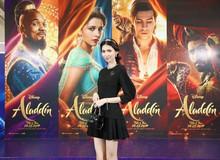 """Như bước ra từ cổ tích, """"Jasmine"""" Ái Phương cùng đông đảo sao Việt và beauty blogger xinh đẹp dự ra mắt Aladdin Live-Action"""