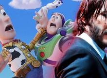 """""""Ông Kẹ"""" John Wick phá đảo thế giới đồ chơi trong trailer mới Toy Story 4"""