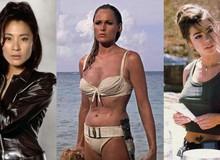 7 bóng hồng bốc lửa ai nhìn cũng mê trong loạt phim về chàng điệp viên 007 James Bond