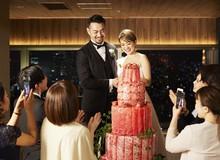 Dị như Nhật Bản: Đám cưới chẳng có gì ngoài thịt nướng, bánh cưới cũng là cây thịt cao gần 2m