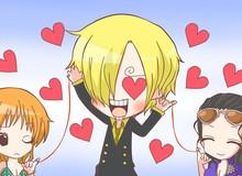 One Piece: Thánh Oda lý giải sự thật đằng sau mối quan hệ giữa Sanji, Nami và Robin khiến các fan phải ngỡ ngàng