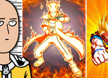 One-Punch Man của Saitama sẽ không thể hạ 7 nhân vật anime siêu mạnh này 1 phát KO