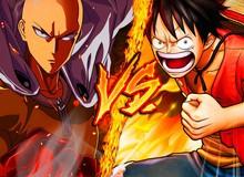 One Piece đứng số 1 còn One-punch Man chỉ xếp thứ 10 trong bảng xếp hạng doanh thu