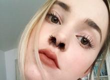 Trào lưu tự sướng kinh dị: Rủ nhau chụp ảnh selfie với lông mũi