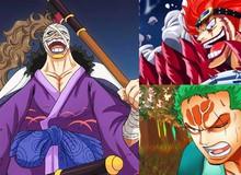 One Piece 944: Zoro điên tiết tấn công Orochi, Kid tức giận khi biết sát thủ Kamazou chính là thuộc hạ cũ của mình