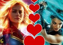 """Captain Marvel và Valkyrie sẽ là cặp đôi đồng tính đầy """"mặn nồng"""" trong vũ trụ Marvel?"""