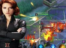 MARVEL Super War: Black Widow bắn liên thanh giống hệt Hayate của Liên Quân Mobile