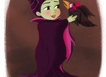 """Hình ảnh """"ngây thơ vô số tội"""" của các nhân vật phản diện Disney khi còn bé"""