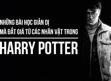 Harry Potter và những bài học cuộc sống đắt giá phía sau từng nhân vật