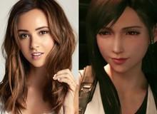 """""""Mất hồn"""" với vẻ xinh đẹp như thiên thần của diễn viên thủ vai Tifa trong Final Fantasy VII Remake"""