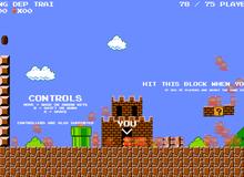 """Super Mario vừa được chế thành game """"sinh tồn"""": 75 người cùng chơi xem ai phá đảo đầu tiên"""