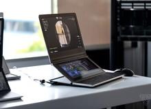 Cận cảnh nguyên mẫu laptop chơi game 2 màn hình Honeycomb Glacier của Intel