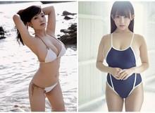 """Chỉ cao mét rưỡi nhưng ngực thì quá khổ, hai cô nàng """"nấm lùn"""" đang làm điên đảo làng người mẫu Nhật Bản"""