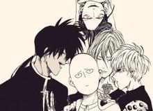 """4 """"fan cứng"""" của thánh phồng Saitama trong One Punch Man: Ai cũng mạnh cả"""