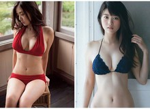 """Ngộp thở trước cô nàng """"mặt học sinh vòng một phụ huynh"""", lọt vào top 10 khuôn ngực đẹp nhất Nhật Bản"""