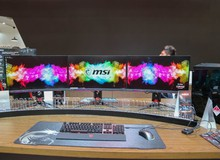 MSI tự hào khoe màn hình chống đạn tại triển lãm giữa một loạt sản phẩm mới cực hấp dẫn