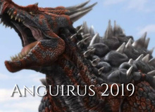 Bạn biết gì về Anguirus – con quái vật đáng sợ trong thế giới Godzilla?