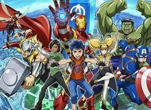 Bộ anime của Marvel: Future Avengers sẽ có bản lồng tiếng Anh