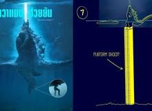 Làm thế nào Godzilla cao 120m có thể nổi giữa đại dương sâu cả nghìn mét? Internet đã có câu trả lời!