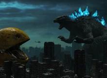 Ngỡ ngàng trước video fanmade đại chiến Godzilla và Pac-Man