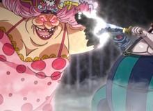 Spoiler One Piece 945: Queen hóa khủng long cổ dài nhưng vẫn ăn hành bởi Big Mom
