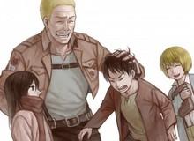 Attack on Titan: Chân dung Hannes – người lính dũng cảm đã cứu mạng Mikasa, Eren và Armin