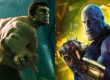 """Nếu chỉ đọ vể sức mạnh, liệu Hulk có cửa """"ăn"""" được Thanos không?"""