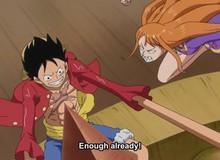 """One Piece tập 891: Nami nhanh như chớp phi thân từ xa tới tẩn Luffy vì tội """"nghịch ngu"""""""