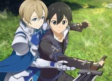 """Sword Art Online: Bỏ xa Alice, Eugeo trở thành """"hậu cung"""" của Kirito được yêu thích thứ 2"""