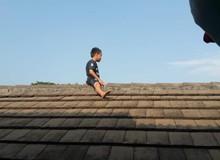 Sợ bị cắt bao quy đầu, cậu bé leo lên mái nhà phòng khám để trốn khiến mọi người tá hỏa