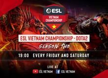 Giải đấu DOTA 2 hàng hot ESL Vietnam Championship Season 2 trở lại Việt Nam, quá tuyệt vời cho game thủ giải trí cuối tuần