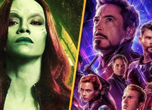Chính thức xác nhận Gamora vẫn còn sống sau cú búng tay Vô Cực của Iron-Man