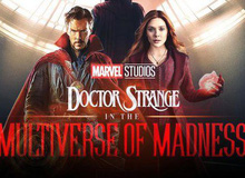 """Quá đen cho gã phản diện, khi bác sĩ Trang sẽ """"song kiếm hợp bích"""" với phù thủy đỏ Scarlet Witch trong Doctor Strange 2"""