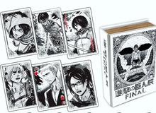 Ý nghĩa của những lá bài tây tương ứng với các nhân vật trong manga Attack on Titan