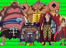 One Piece: So sánh chiều cao các nhân vật, có những người tưởng thấp bé nhẹ cân ai ngờ lại cao không tưởng